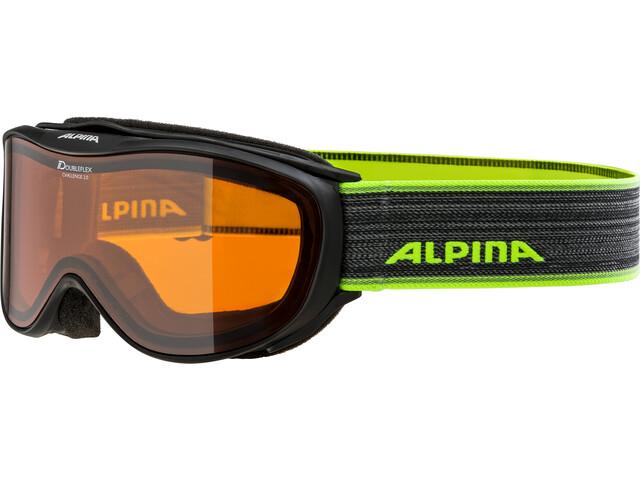 Alpina Challenge 2.0 Doubleflex S2 Gafas, black